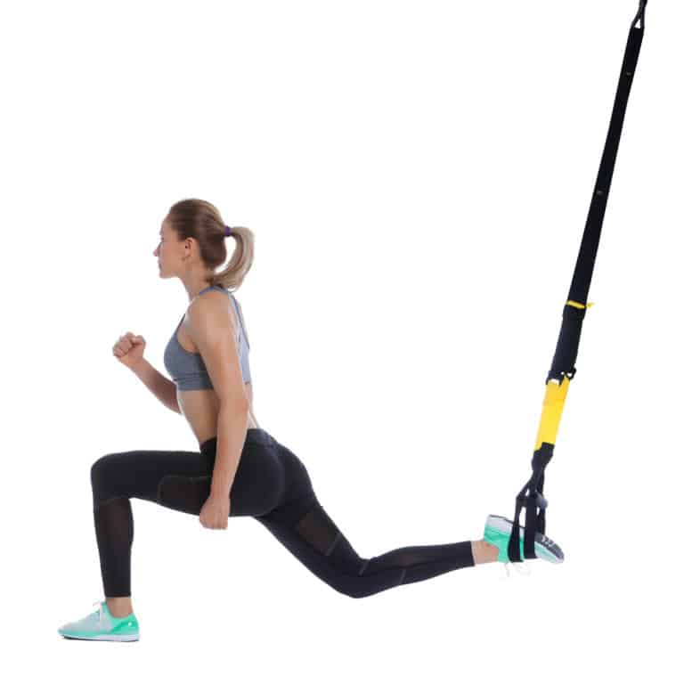 TRX Bulgarian Split Squat