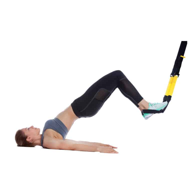 TRX Supine Hip Extension to Leg Curl