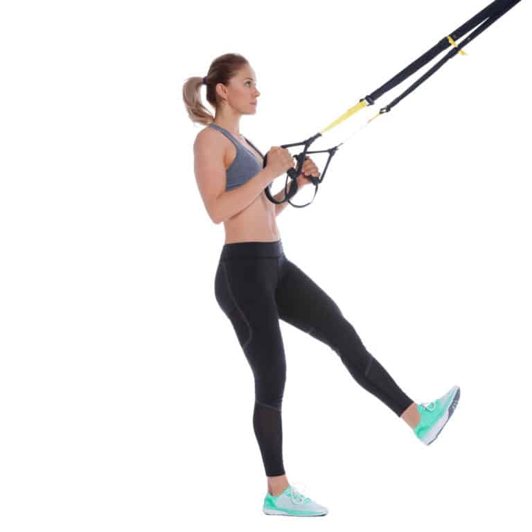 TRX One-legged Squat